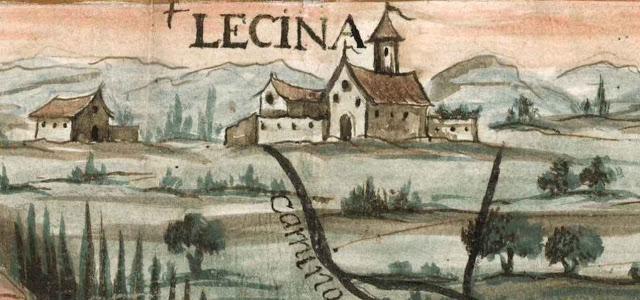 Mapa antiguo de Licena