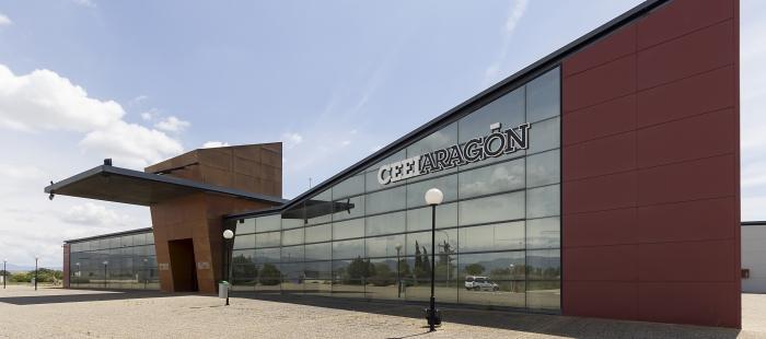 Fachada de la sede de Huesca del CEEI Aragón GoAragon ConoceAragon