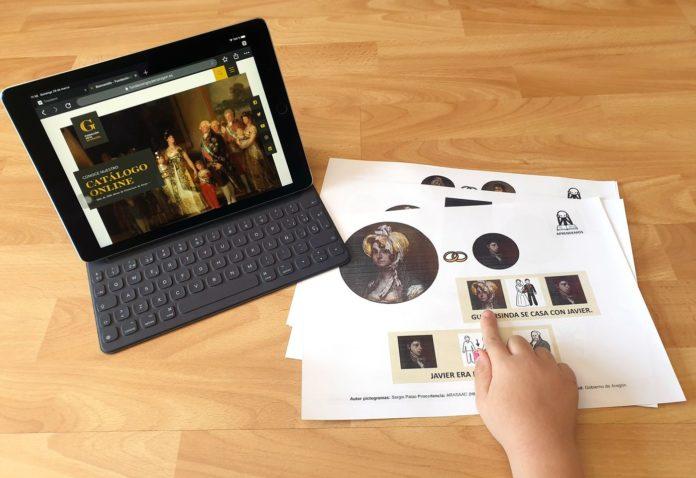Goya accesible para todo el mundo