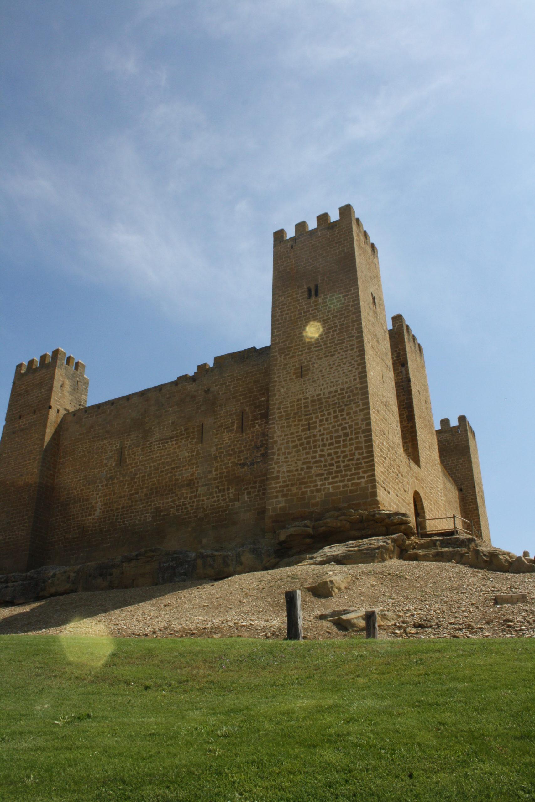 castillos de aragón Castillo de Sábada. Foto: Alfredo Cortés