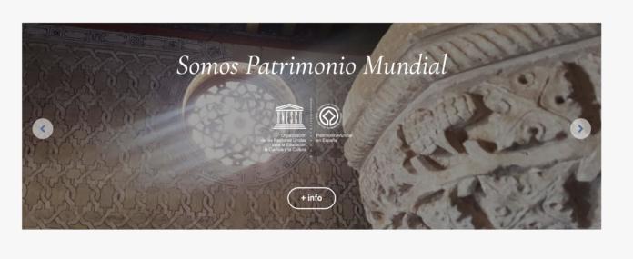 Pantalla de la web Territorio Mudejar