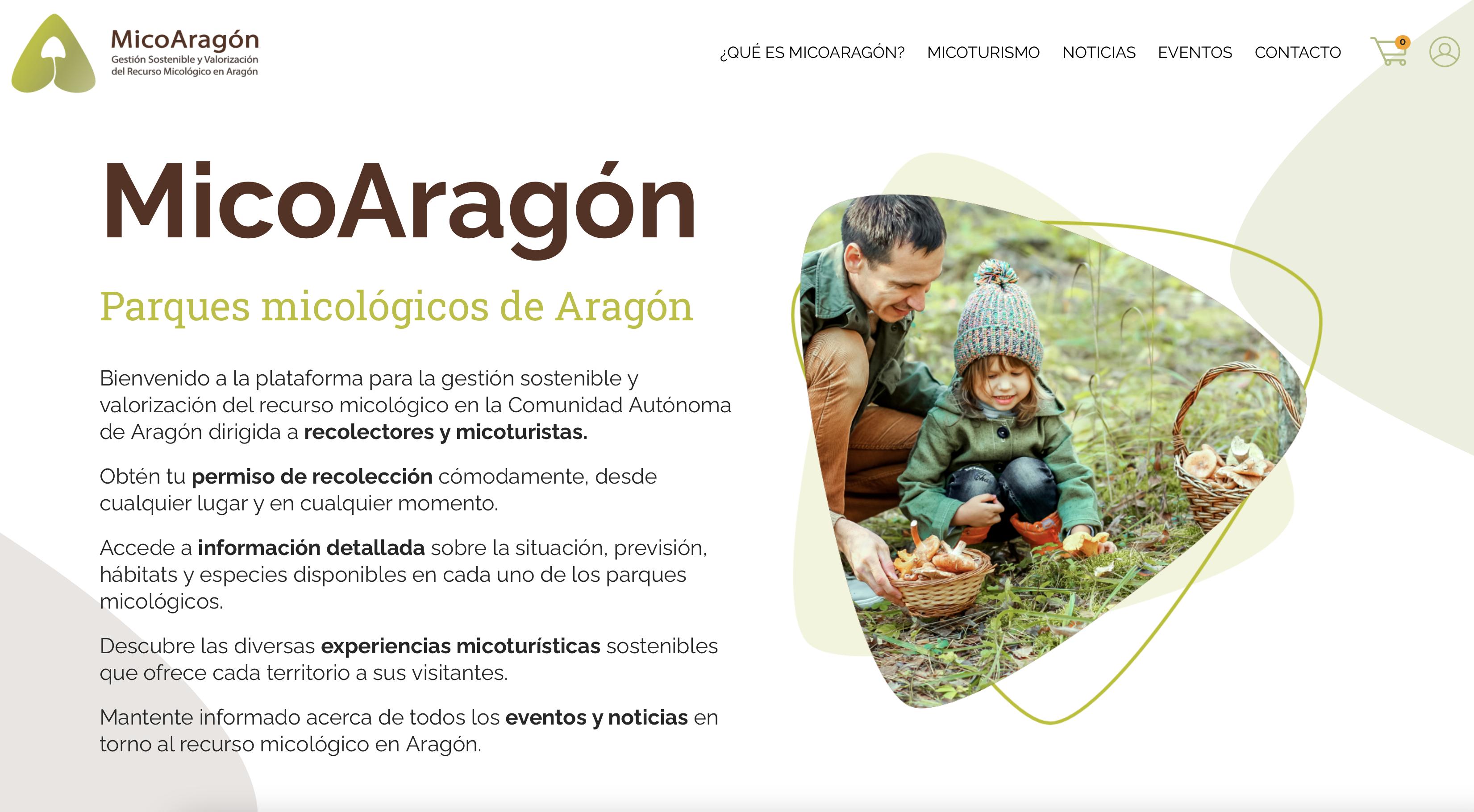 Captura web micoaragón
